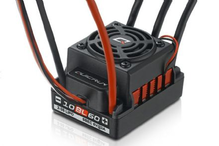 HOBBYWING HW30107100 QUICRUN-WP-10BL60 WATERPROOF 60A BRUSHLESS ESC